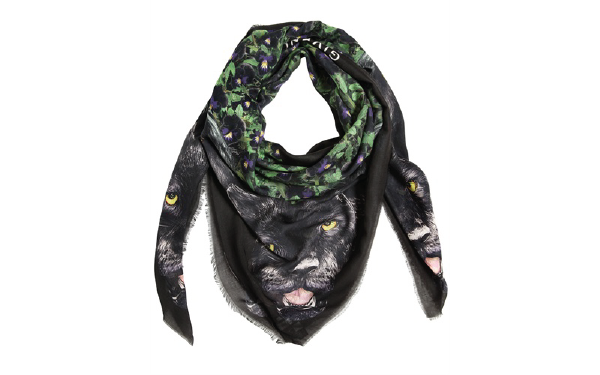 Currently Coveting: Givenchy Panther & Violet Print Silk Twill Scarf