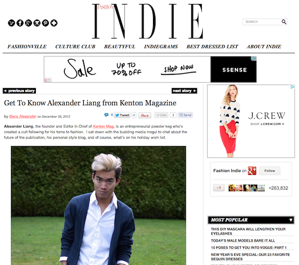 A Chat With FashionIndie