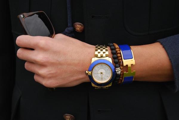 Glam-Rock-watch-Hermes-Clic-H-blue