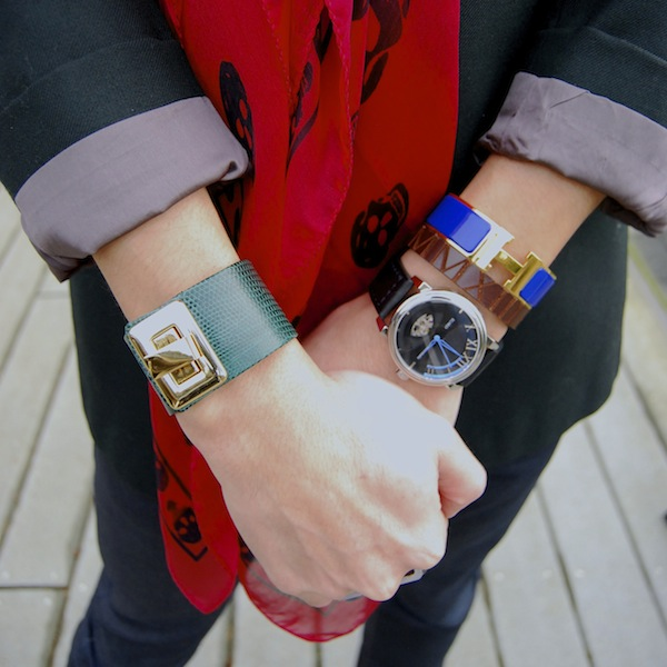 Kara-Ross-Hermes-Clic-H-Egard-watch