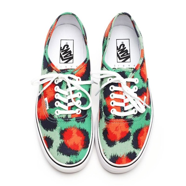 Currently Coveting: KENZO x Vans Clouded Leopard Sneakers
