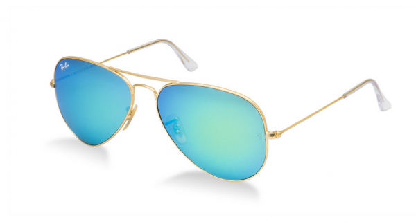 Currently Coveting: Ray-Ban Mirrored Aviators