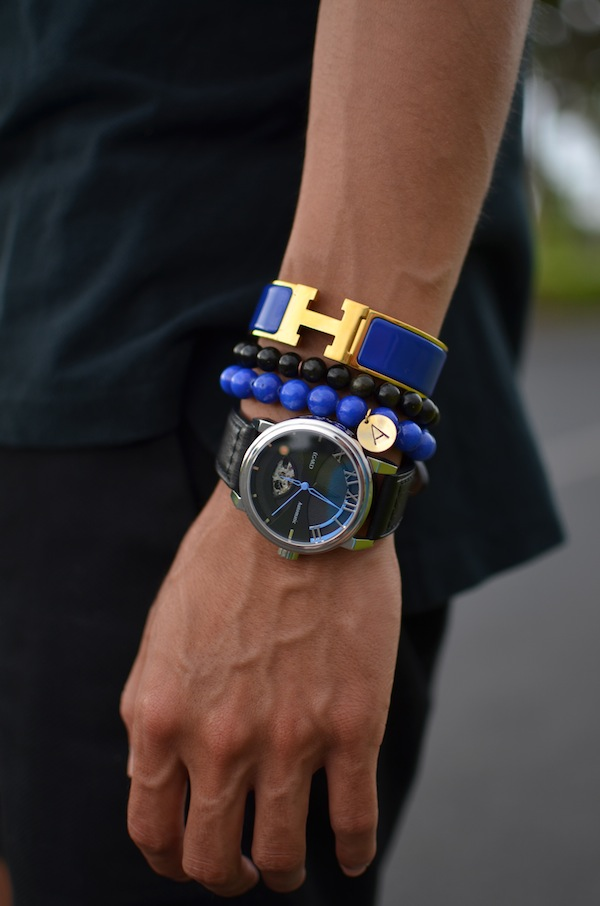 Hermes-blue-clic-h-egard-watch