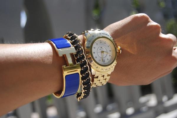 hermes-blue-clic-h-gold-wristgame