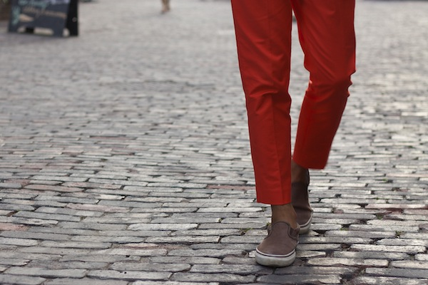 Alexander-Liang-mens-style-orange-pants