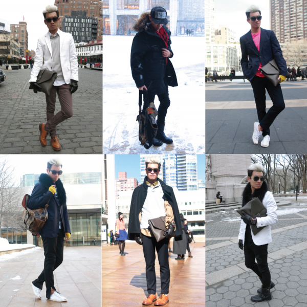 All of My Fall 2013 NYFW Looks