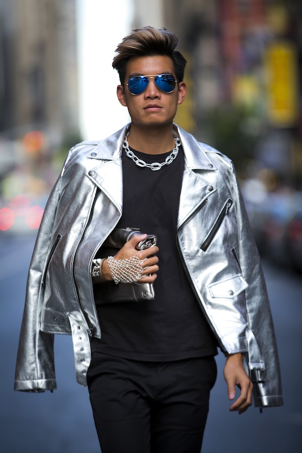 NYFW Day 3: Sartorially Silver