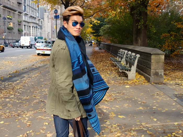 Alexander Liang mens style Central Park NYC 03