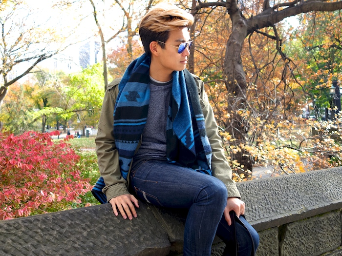 Alexander Liang mens style Central Park NYC 05