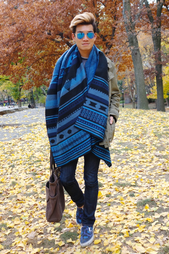 Alexander Liang mens style Central Park NYC 07