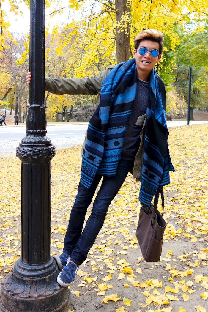 Alexander Liang mens style Central Park NYC 08