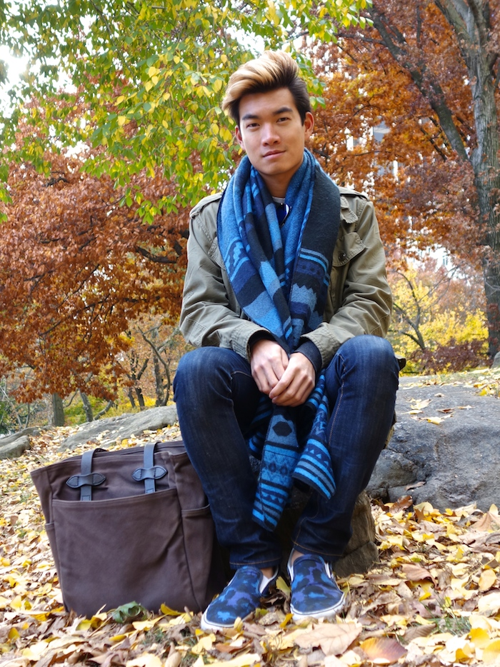 Alexander Liang mens style Central Park NYC 09