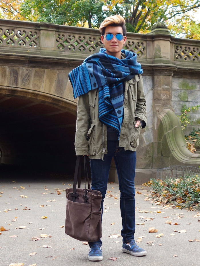 Alexander Liang mens style Central Park NYC 10