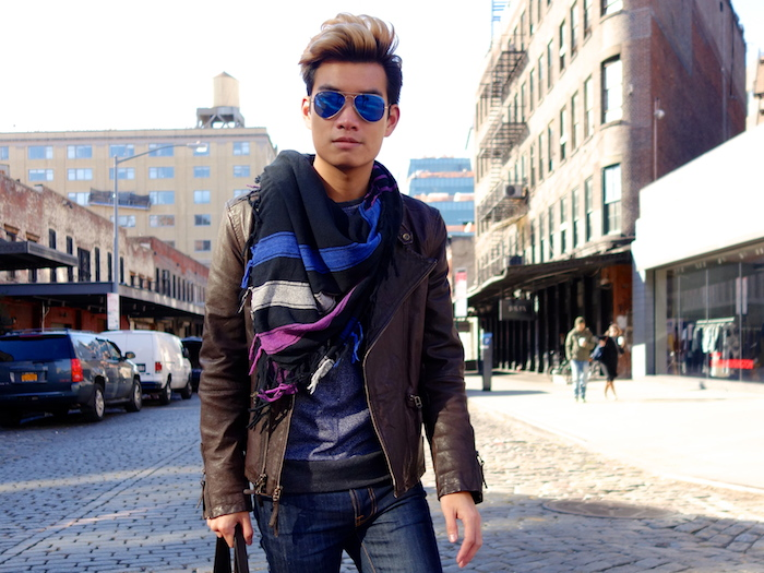 Alexander Liang mens style Movado nyc 02