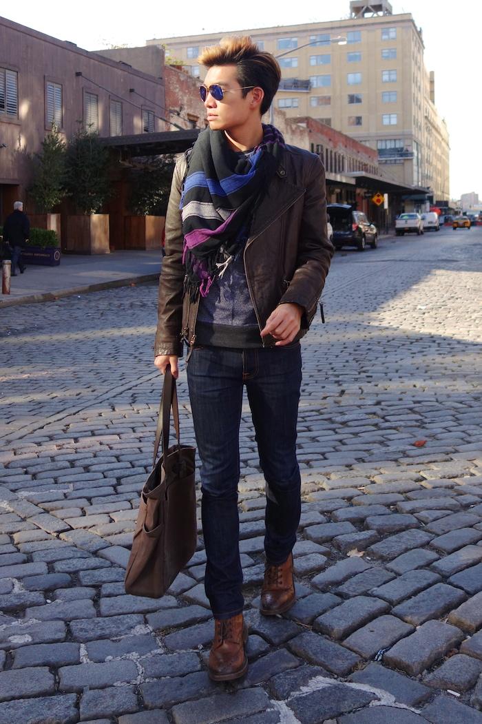 Alexander Liang mens style Movado nyc 03