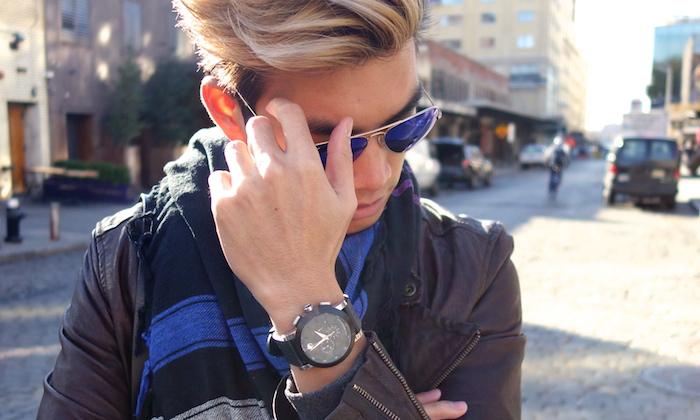 Alexander Liang mens style Movado nyc 06