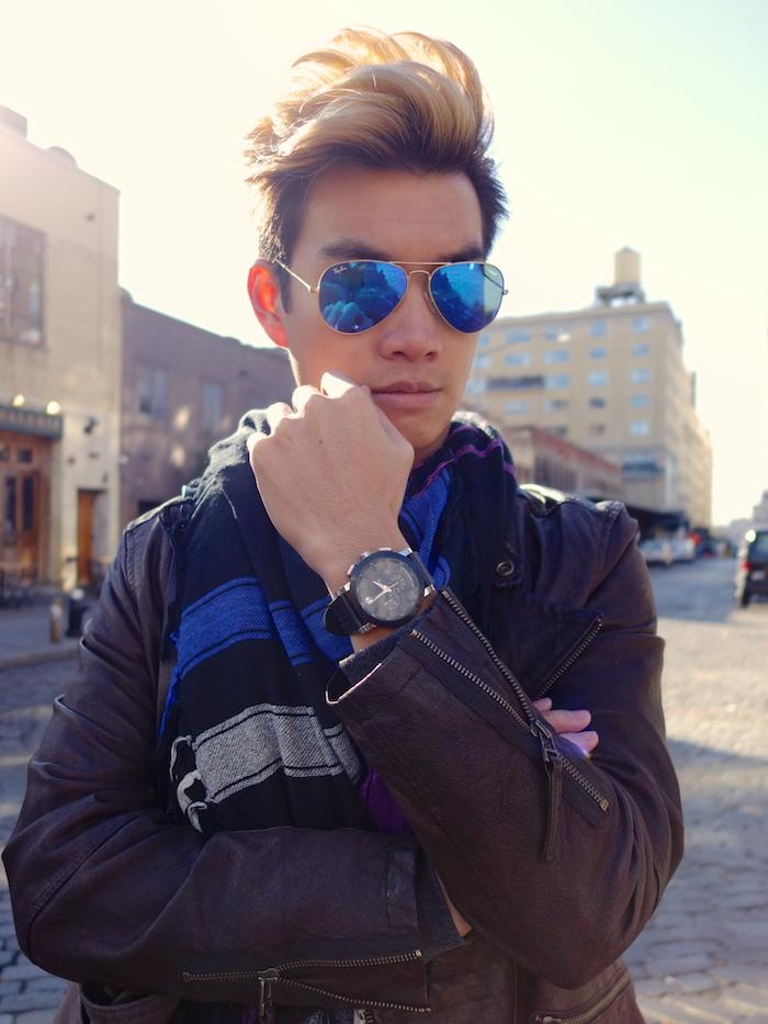 Alexander Liang mens style Movado nyc 07