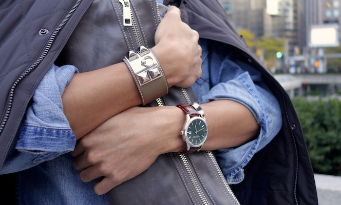 hermes cdc Caravelle New York watch