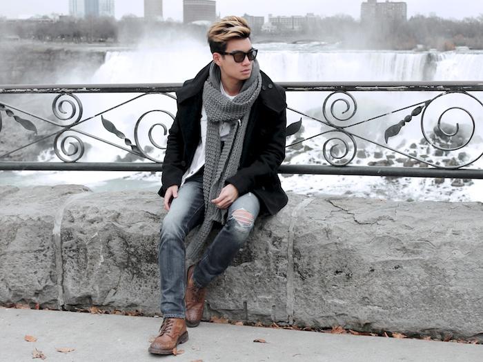 Alexander Liang mens style Niagara Falls 06