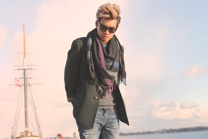 Alexander Liang mens winter style Toronto lakeshore 02