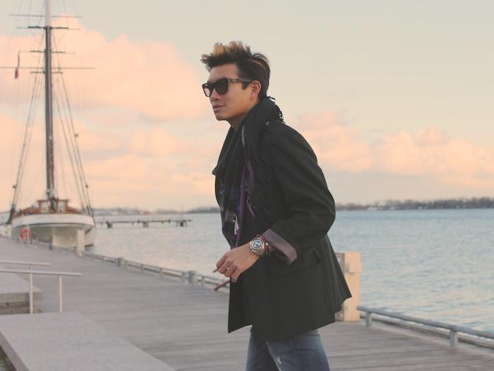 Alexander Liang mens winter style Toronto lakeshore 07