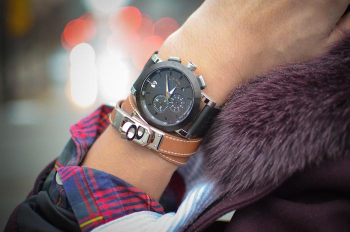 Hermes kelly bracelet Movado watch