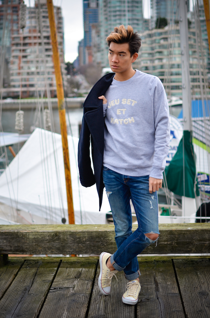 Alexander Liang mens style granville island lacoste 07