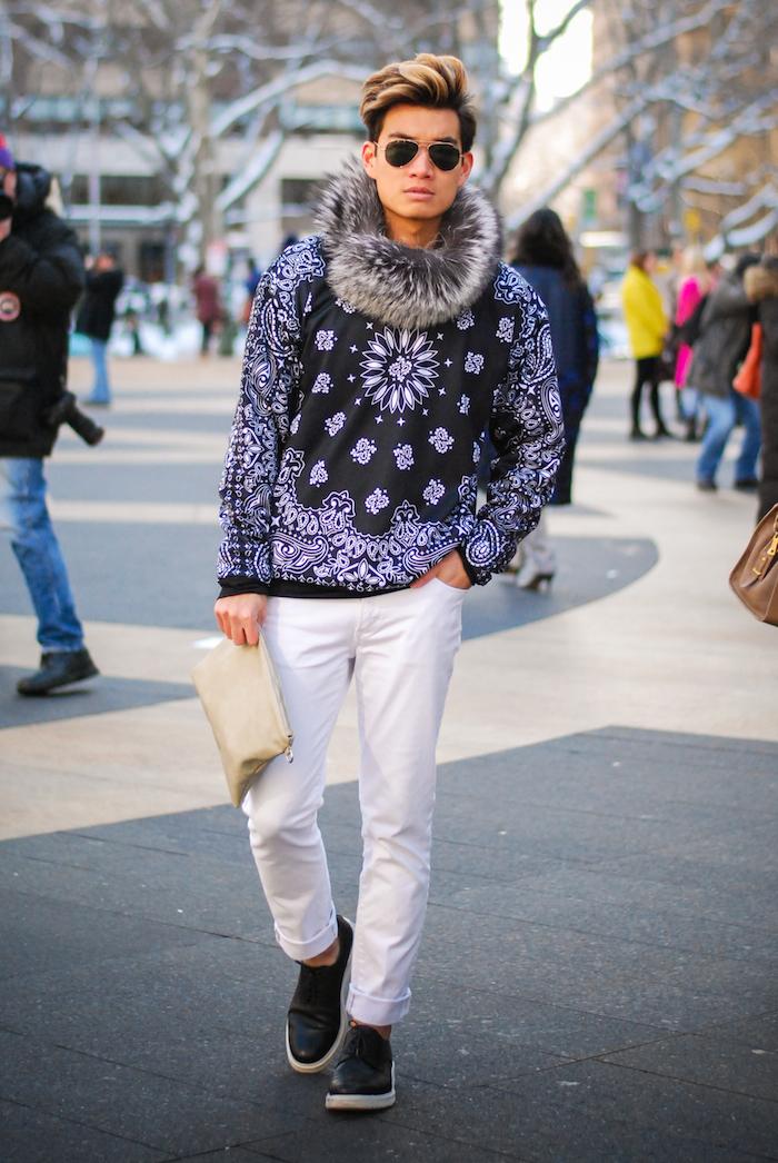 alexander liang mens fashion nyfw street style 03