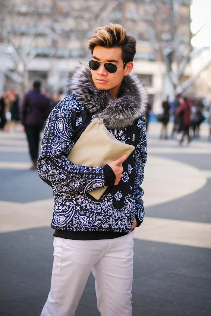 alexander liang mens fashion nyfw street style 08