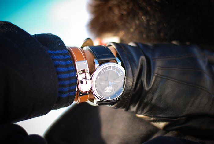 hermes bracelet egard watch