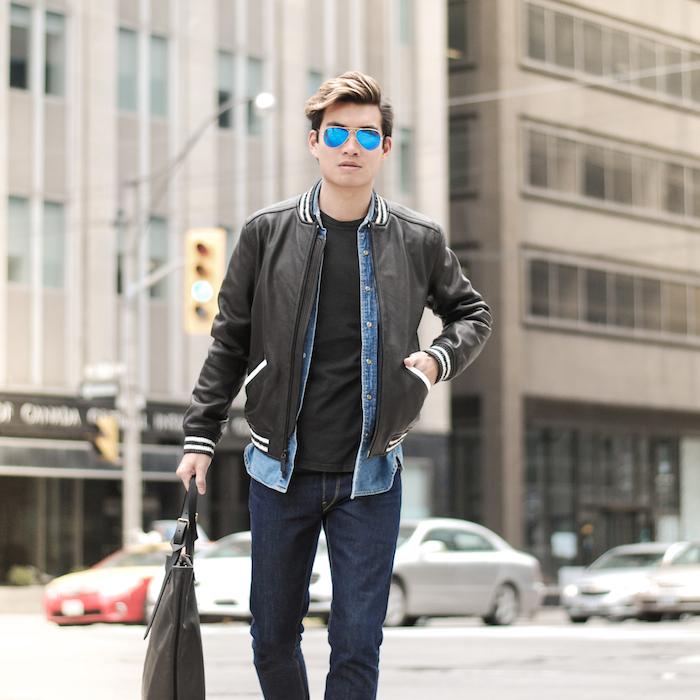Black Leather, Blue Jeans