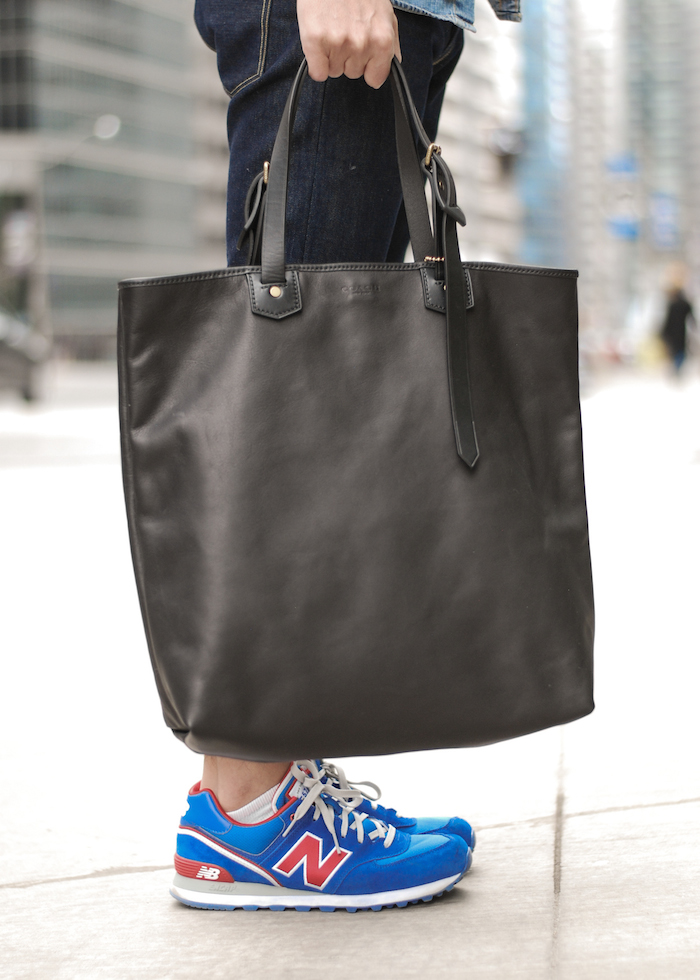 coach bag new balance 574 sneakers