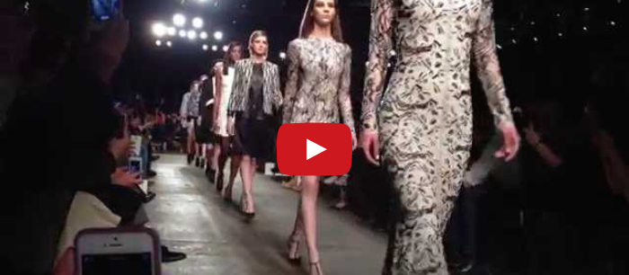 Fashion Week Fall 2014 – The Video
