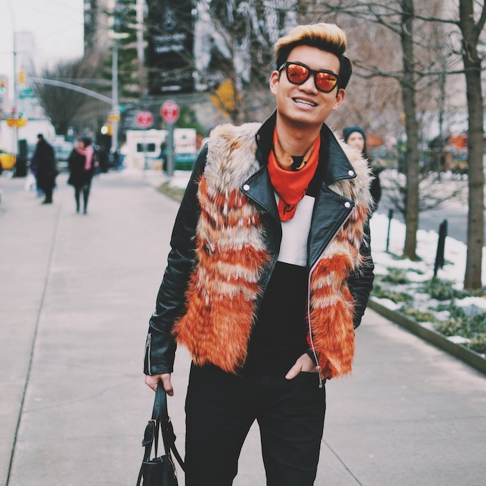 New York Fashion Week Mens Street Style