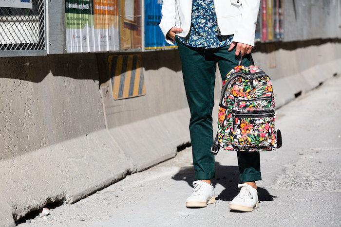 ash worldwide floral backpack