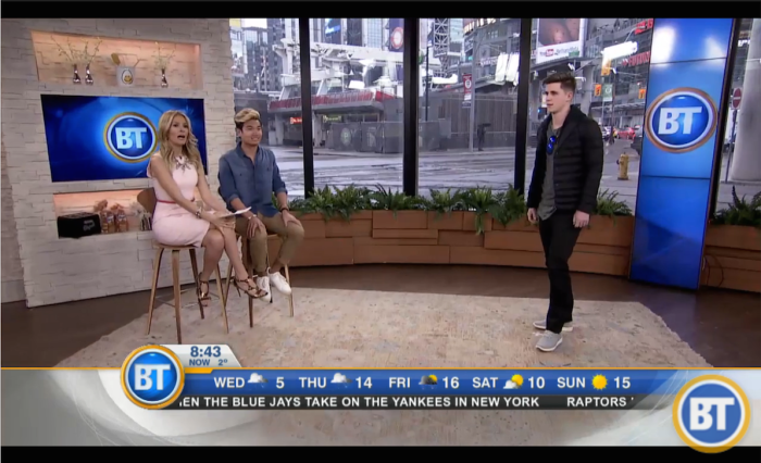 Chatting Spring Fashion on Breakfast Television