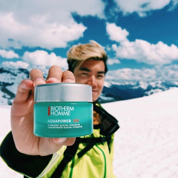 72 hours of man biotherm homme alexander liang