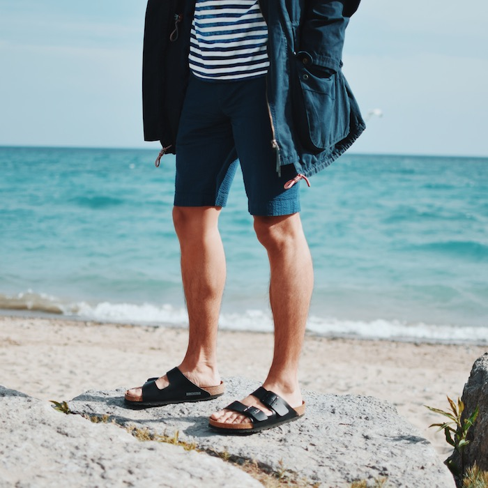 Image result for mens sandals outfit