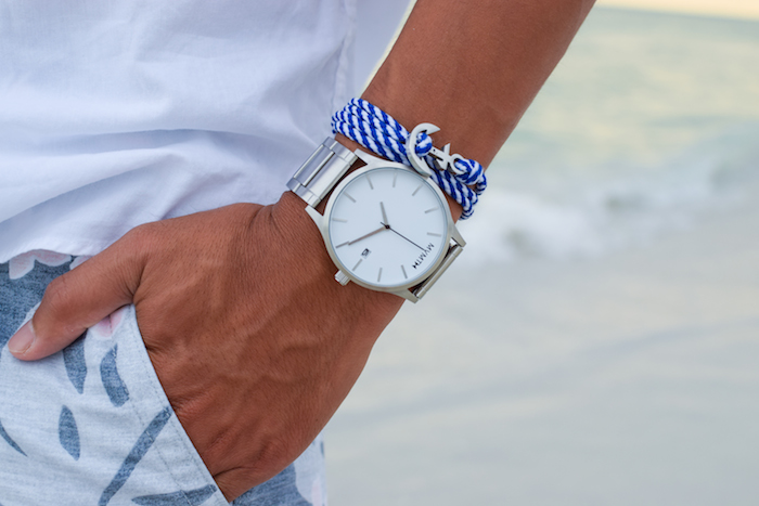 mvmt watch anchor bracelet