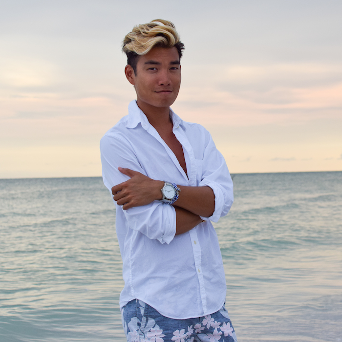 siesta key beach sunset alexander liang mens style 09