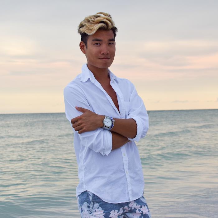 siesta key beach sunset alexander liang mens style 09