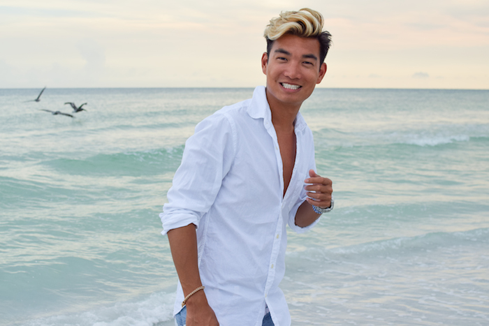 siesta key beach sunset alexander liang mens style 10
