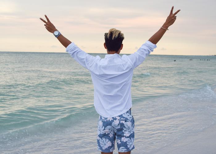 siesta key beach sunset alexander liang mens style 11