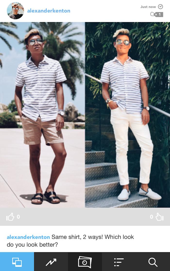 styled app versus feature