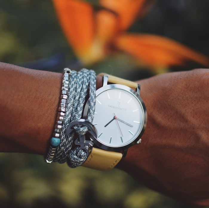 thread etiquette wristgame watch bracelets