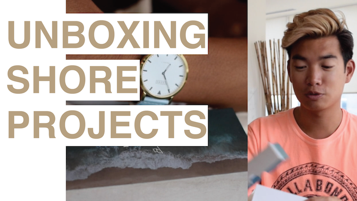 VIDEO: Unboxing My New Shore Projects Watch