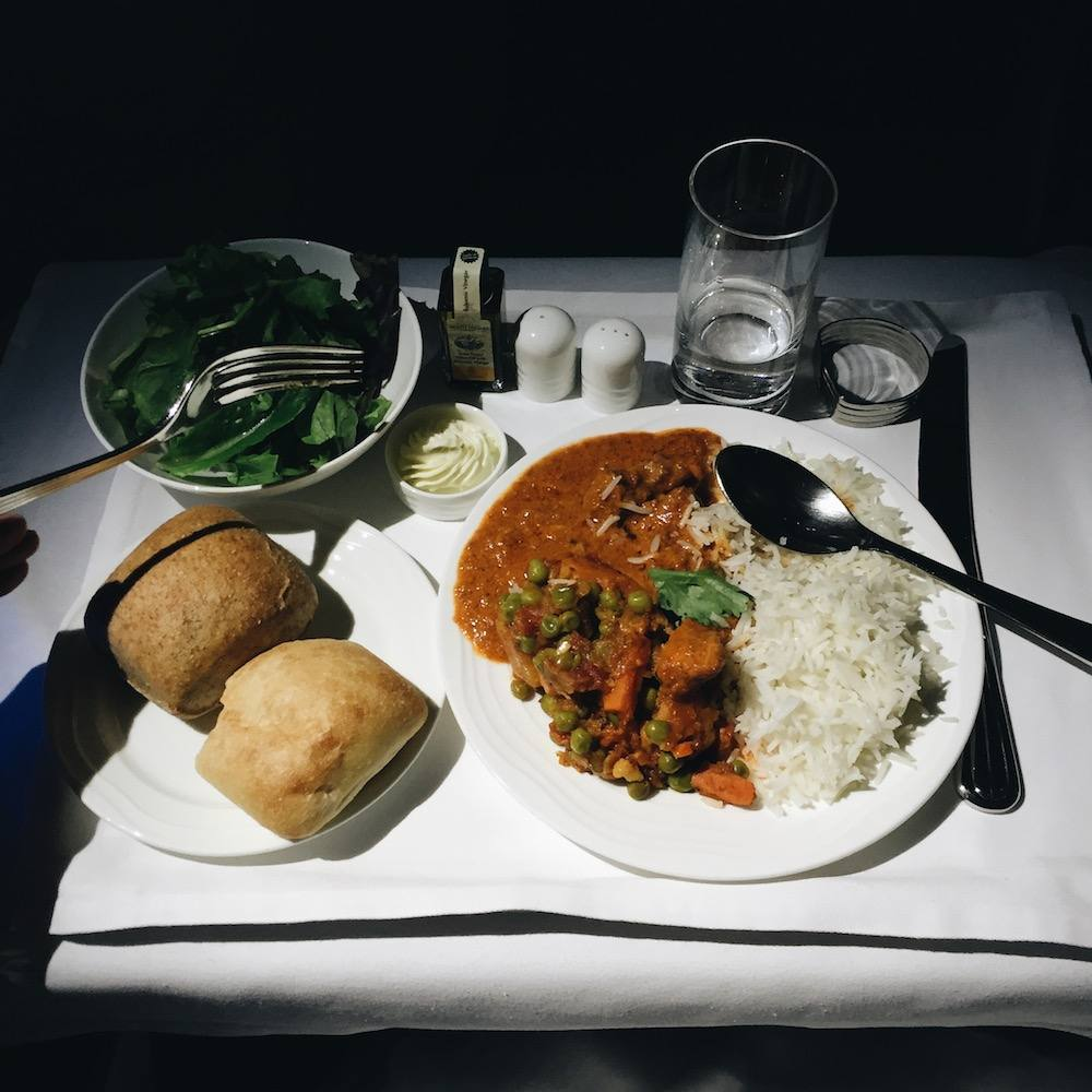 emirates meal food