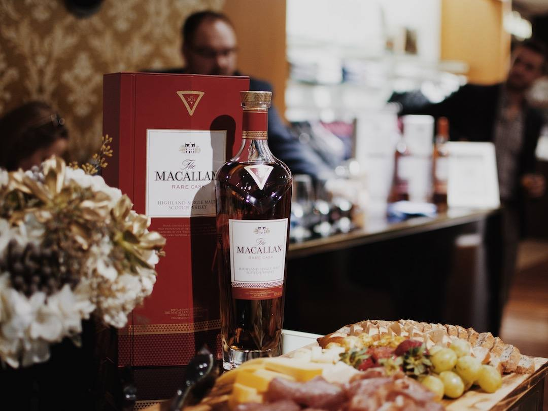 Shop & Scotch: The Macallan Lounge at Harry Rosen