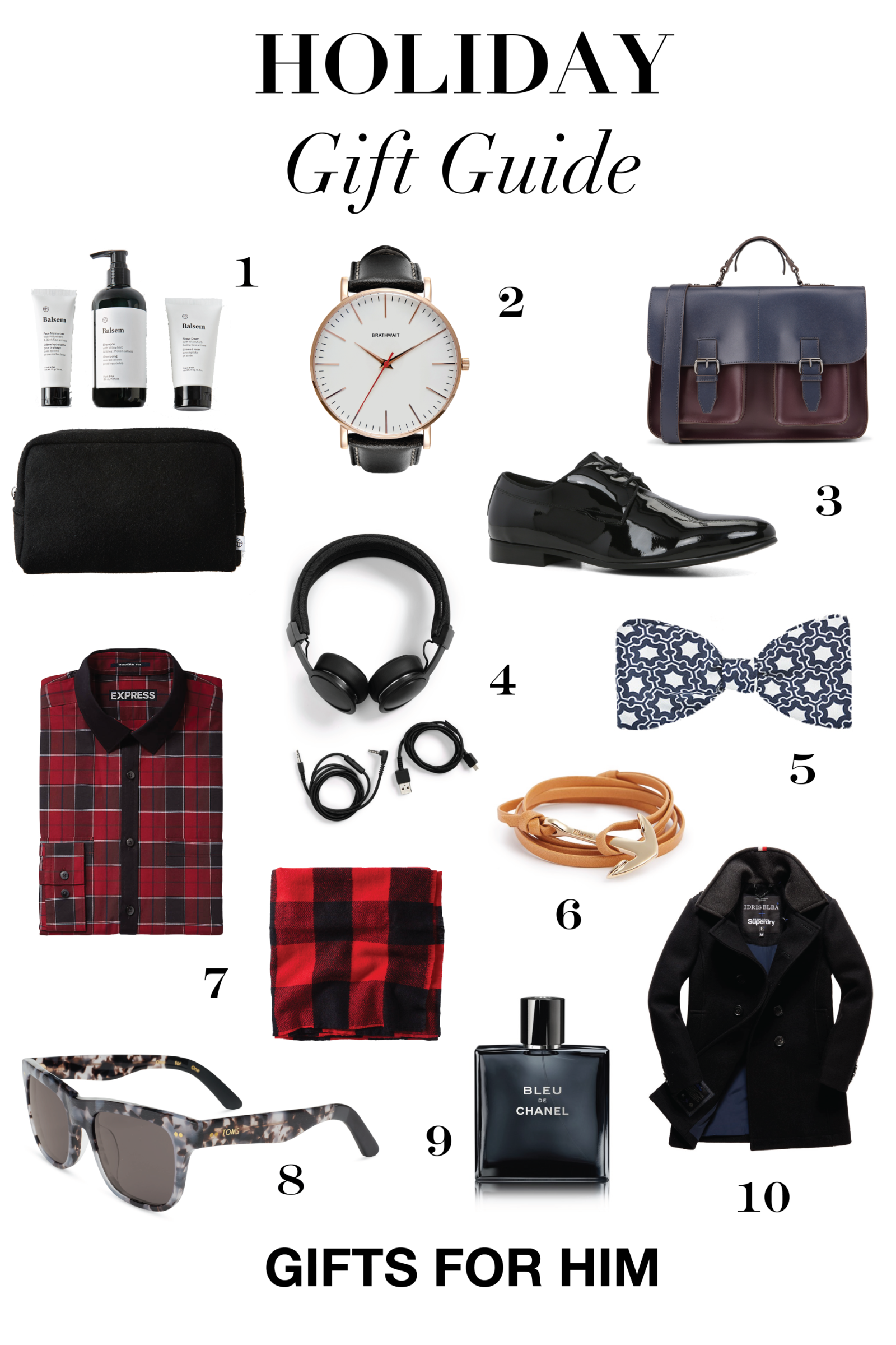Awesome Gifts For Men Part - 5: Holiday Gift Guide Mens-01