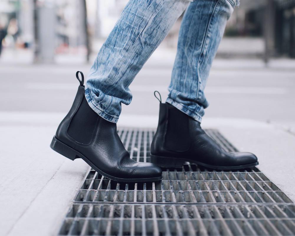 lanvin mens chelsea boots